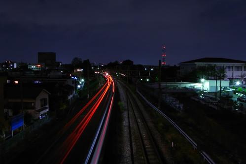 Tokyo Train Light