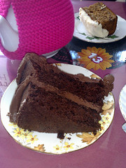 Chocolate  at Loopy Lorna's tea house, Morningside, Edinburgh
