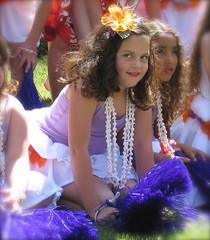 Eloise (Pearl is a Girl) Tags: cute girl smile dance eyes child hula checks polynesian