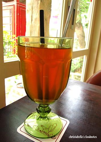 我的朋友長谷川先生的家荔枝葡萄柚茶
