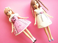 Kawaii Japanese Licca Doll & Friend Maria Figures Pink Girly (Kawaii Japan) Tags: pink anime cute girl japan toy japanese doll girly manga lolita kawaii figures rare takara licca tomy hardtofind hardtoget liccadoll takaratomy shojomanga
