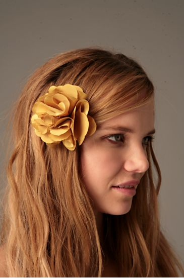 flower hair clip, free people