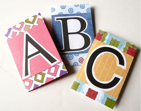 A Fun Craft for Kids: Alphabet Books
