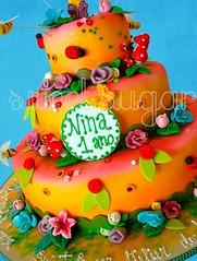 SWEET SUGAR - By Michelle Lanza - Encantado DASLU (SWEET SUGAR By Michelle Lanza) Tags: sweet michelle sugar jardim festa oficial lanza modelado bolodecorado