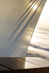 veiled (richietown) Tags: ocean sun beach sunrise canon relax mexico chair warm waves dof bokeh rivieramaya 30d 50mm18 richietown alcielo