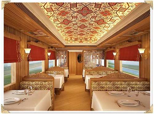 Train Chartering - Maharajas Express restaurant