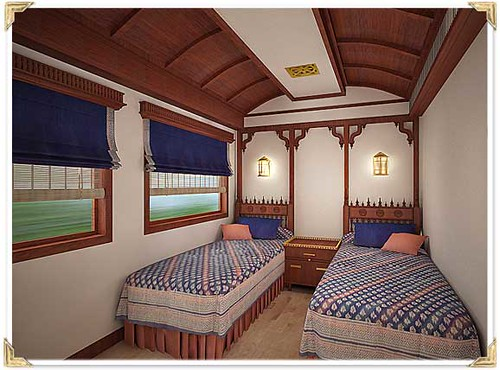 Train Chartering - Maharajas Express cabin super deluxe twin