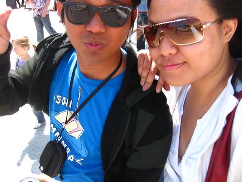 with Kristine
