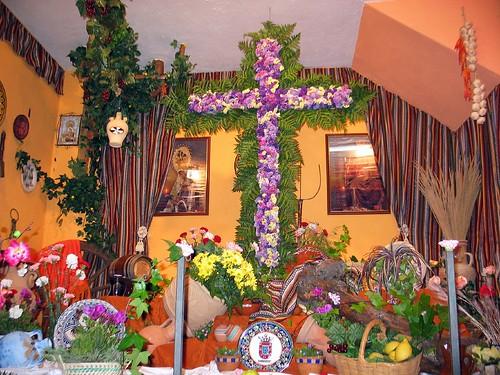 cruz de mayo ganadora. Casa de Ceuta en Melilla