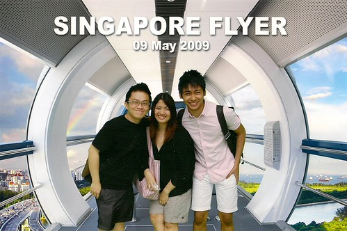 At the Singapore Flyer