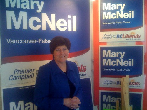 Mary McNeil - Vancouver-False Creek