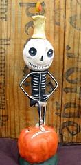 IMG_3847 (crescent hill designs) Tags: art halloween pumpkin skeleton jack o folk hill crescent designs lantern jingles whimsical spookytime
