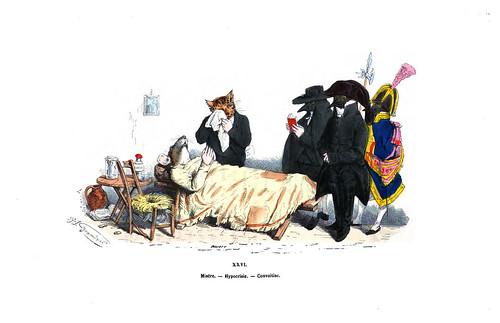 015-Les métamorphoses du jour (1869)-J.J Grandville