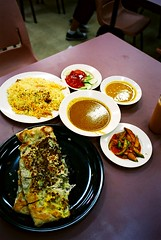 Mutton Murtabak, Chicken Briyani, Zam Zam Restaurant
