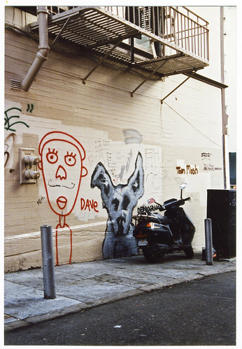 1990s Dog graffiti 4