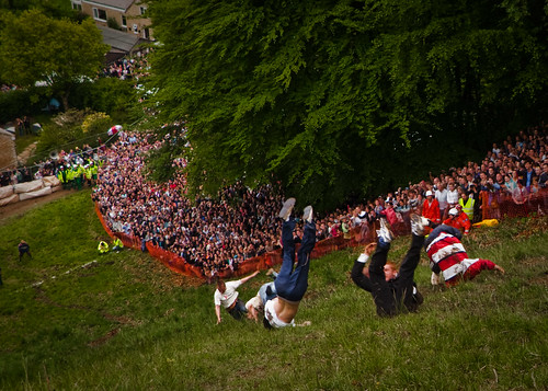 Cheese Rolling Festival - Second Race