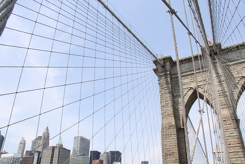 brooklyn bridge afternoon