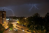 Lightning04 (Gatria) Tags: holland netherlands night noche rotterdam nikon long exposure nacht nederland tormenta strike thunderstorm lightning rayo blitz nuit gewitter orage trovoada niederlande temporale onweer raio bliksem foudre d80