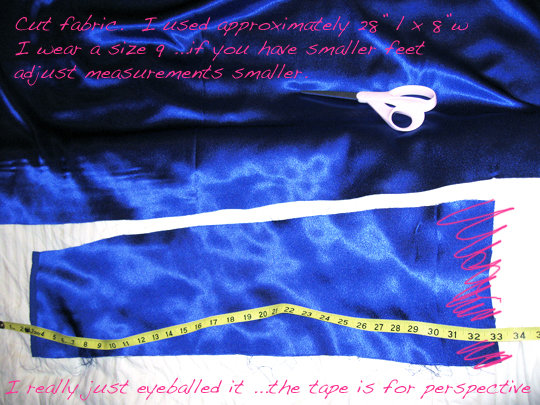 diy-blue-satin-shoes-fabric