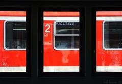 An Unknown Journey (Ashy B) Tags: travel orange train germany deutschland reisen zug framing departure coth