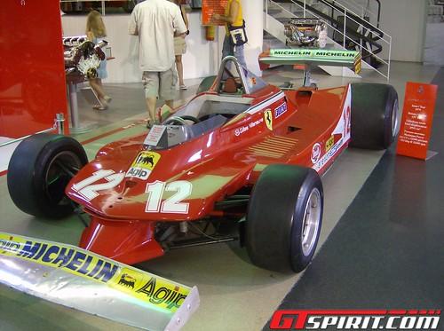 Gilles Villeneuve - Ferrari 312 T4