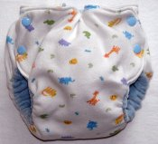 Medium Fattycakes Fitted  *Recycled Knit Blanket Outer*