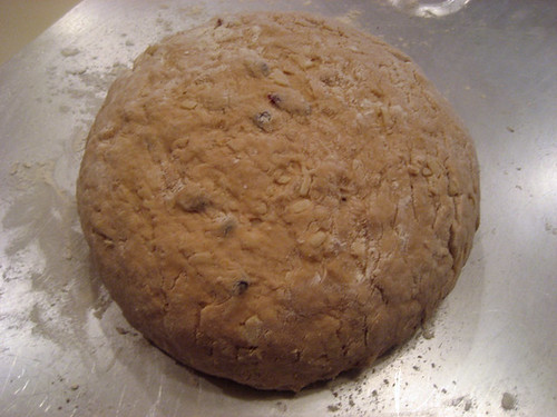 oatmeal bread dough