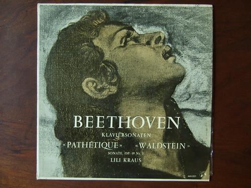 Beethoven - Piano Sonata Pathetique, Waldstein, Sonate op.19 - Lili Kraus, Piano, MMS