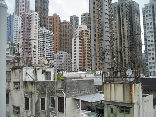 Views from Tung Street's Studio Apartment, Hollywood Road