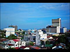 Blue Hot (Rudy Sempur) Tags: indonesia downtown borneo skyscrapper kalimantan balikpapan eastkalimantan eastborneo