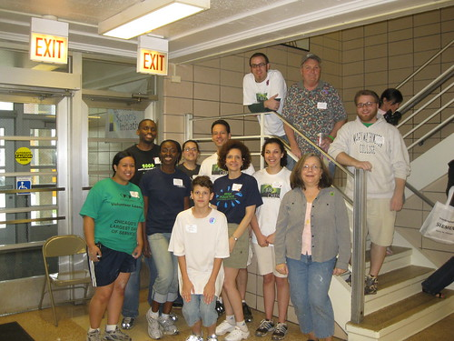 JGSullivan participates in Chicago Cares Serve-a-thon 2009
