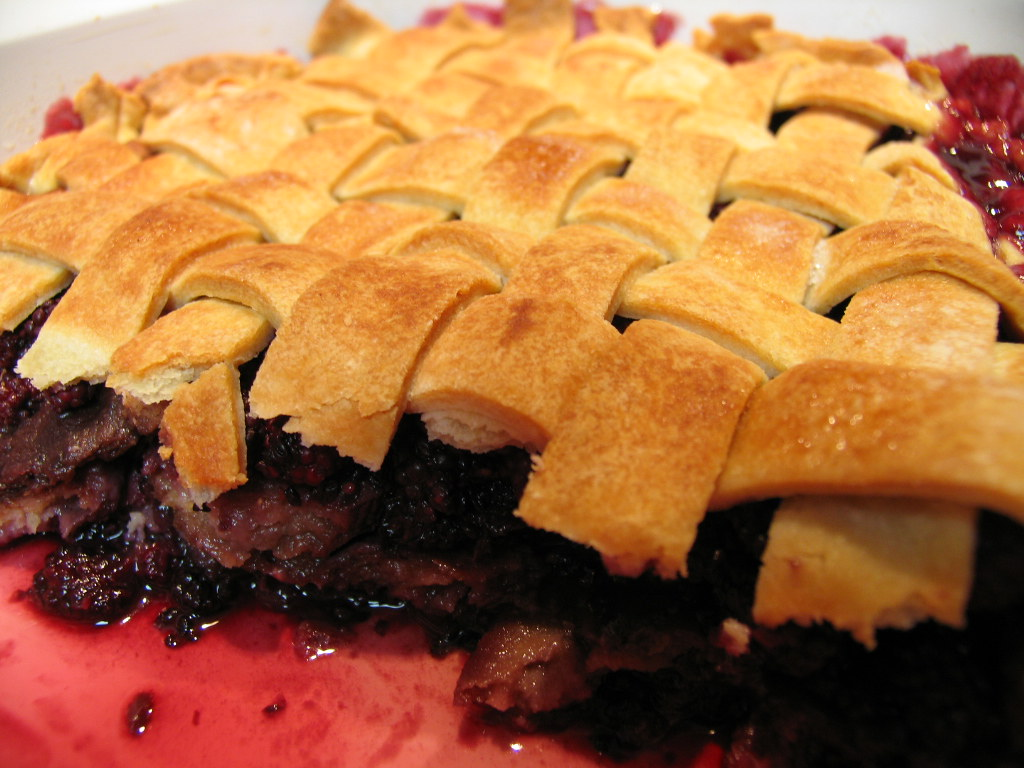 Wild Blackberry Cobbler-with recipe