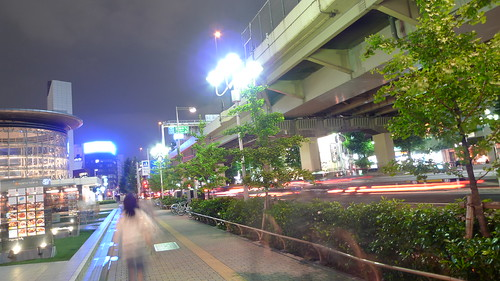 Night streets of Roppongi