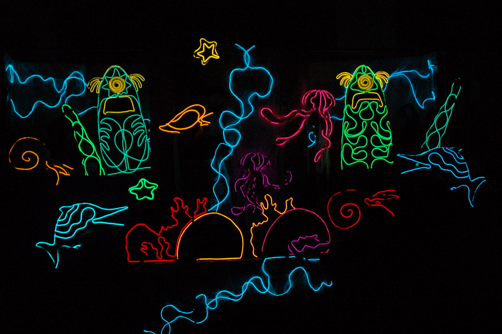 Light up Puppets
