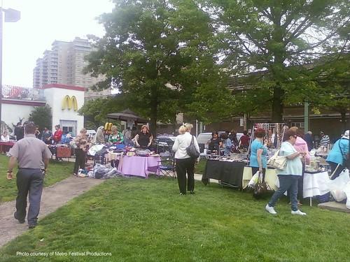 metrofestival flea market june 09 mcdonalds