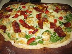 Paula Deens Pizza Gone Trader Joes
