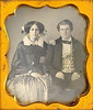 Victorian Husband and Wife (Mirror Image Gallery) Tags: beauty victorian daguerreotype