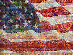 United State of Art (qthomasbower) Tags: desktop blue red wallpaper usa white art composite stars unitedstates state mosaic collages modernart stripes flag united mashup mosaics photomosaic visual redwhiteandblue starsandstripes starspangledbanner oldglory montages blends photomosaics unitedstateofart visualmashups unitedstateofpop qtbowerpbsangaroon