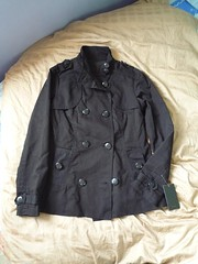 my military-inspired jacket!!