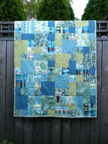 3677489532 afb61e9765 Holy moly! I made a quilt!