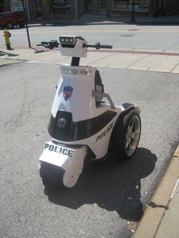 Cool Cop Ride