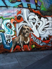 North Beach mural detail