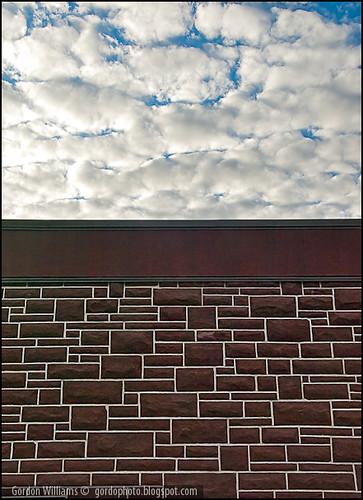 Wall & sky
