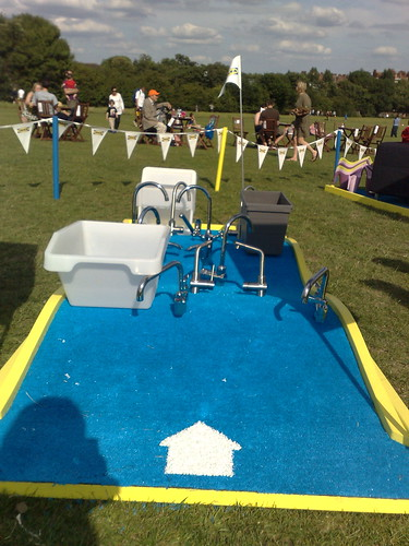 Sweden on Stage - IKEA crazy golf - water / taps hole