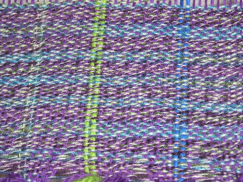Weaving close-up