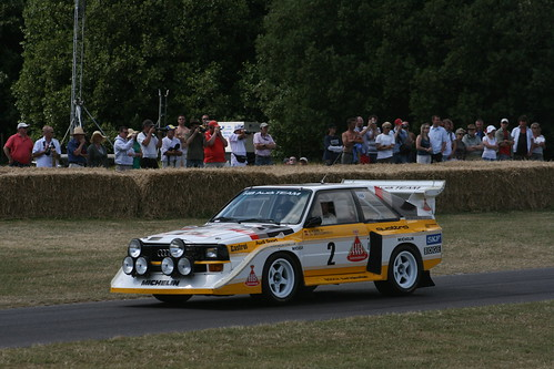 1985 Audi Sport Quattro S1. 1985 Audi Sport Quattro S1 2.1L Turbocharged 5 cylinder