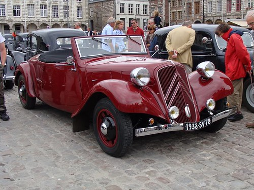 Traction avant Cabriolet 11 B 1938