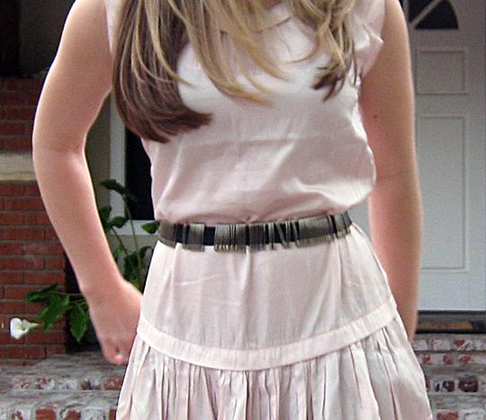 safety pin belt