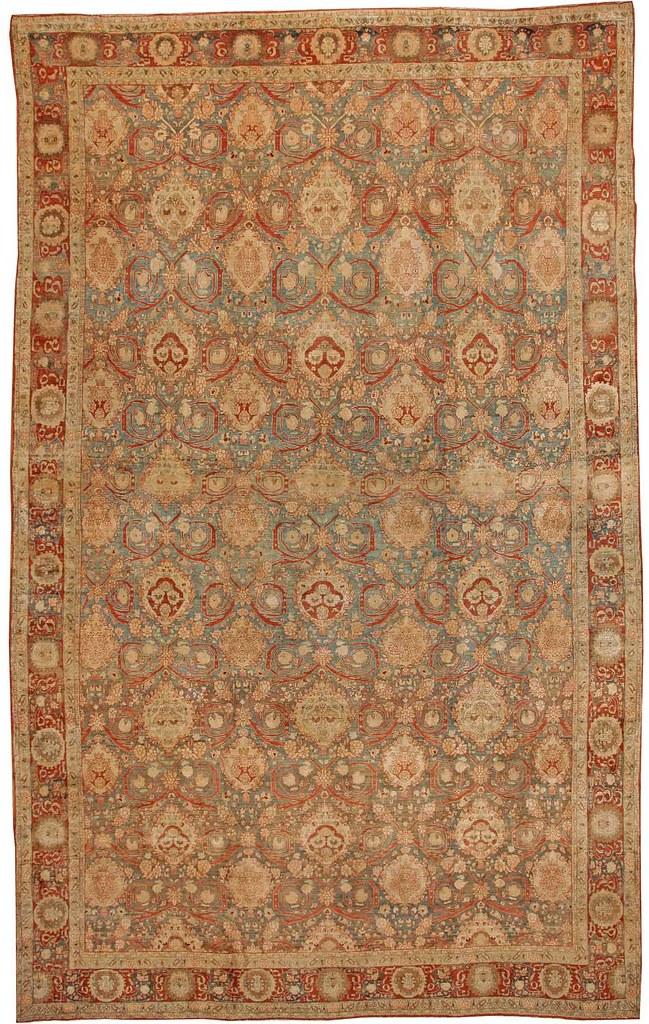 Antique Bidjar Persian Rug #40686 by Nazmiyal Collection