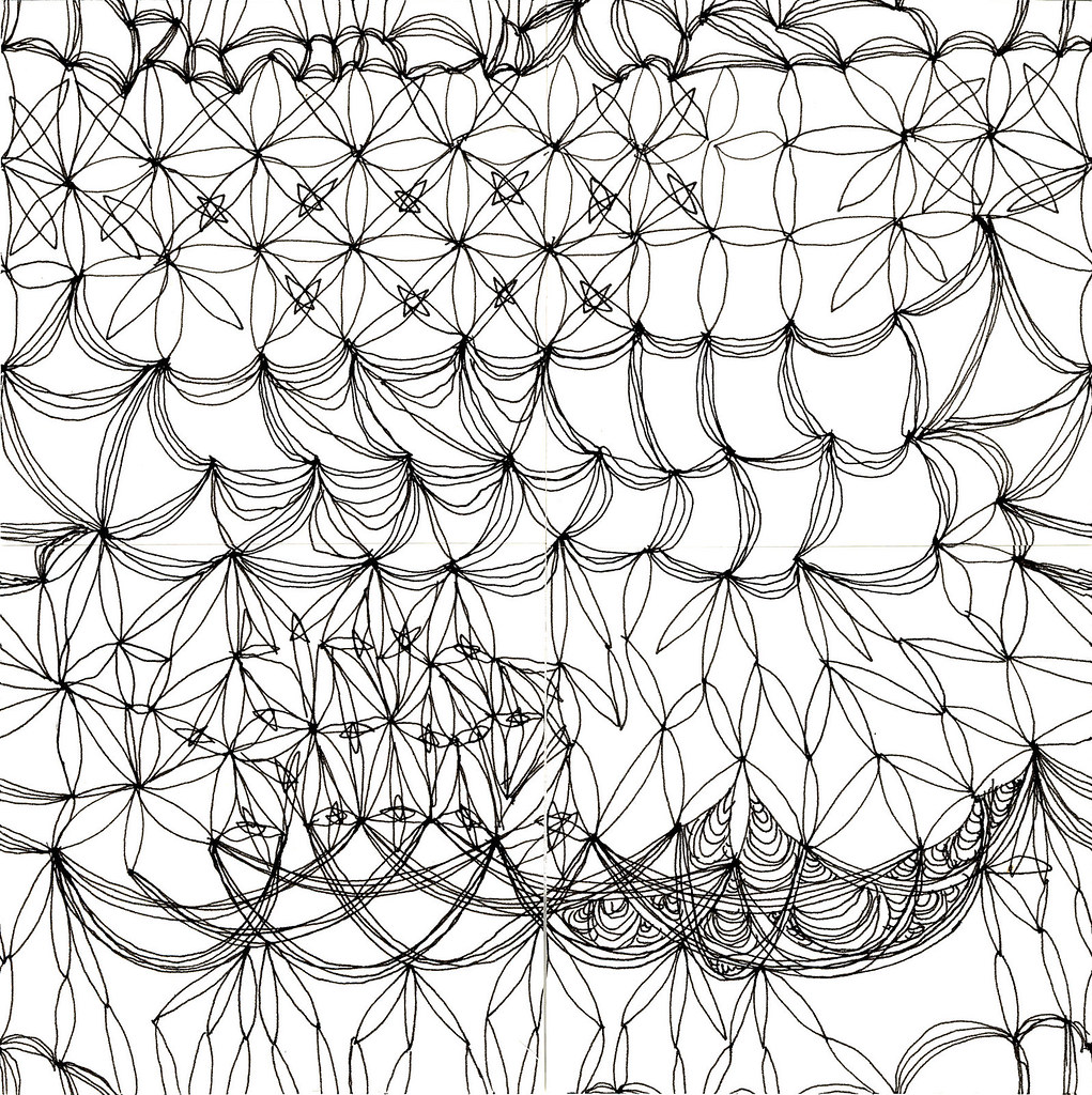 Mesh Pattern, Original Drawing